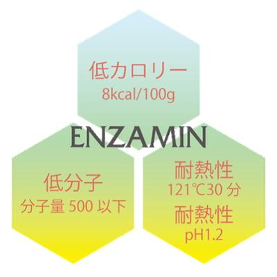 エンザミンの3大特徴